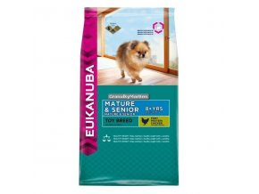 Eukanuba Dog Mature and Senior Toy Breed Hmotnost  800g