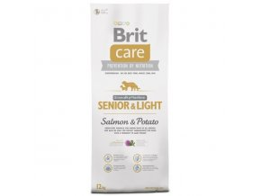 Brit Care Dog Grain-free Senior & Light Salmon & Potato