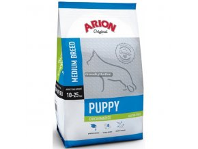 Arion Dog Original Puppy Medium Chicken & Rice