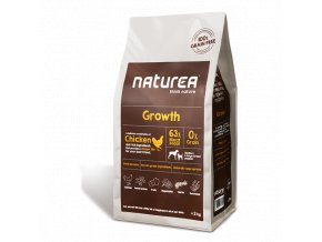 Naturea Grain Free Dog Growth - Puppy All Breeds 2kg