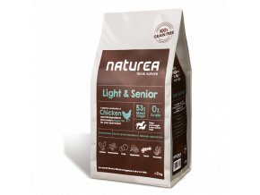 Naturea Grain Free Dog Light and Senior - All Breeds 2kg