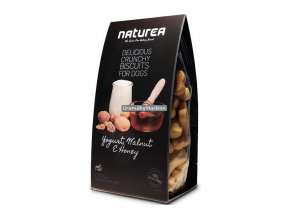 Sušenky Naturea Grain Free Jogurt, vlašské ořechy a med 230g