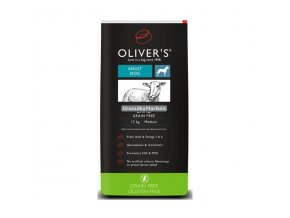 Oliver's Adult Lamb Grain Free Small 4kg