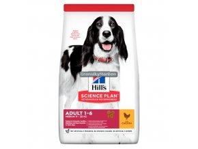 Hills sp canine adult medium chicken