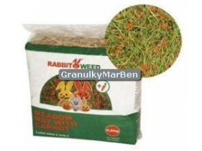Seno RabbitWeed s mrkvi 0,6kg 1,9l