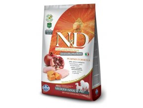 ND Grain Free Canine Pumpkin Chicken Adult Medium Maxi