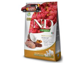 ND Grain Free DOG Quinoa Skin and Coat Quail