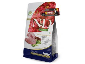 ND Quinoa feline Adult WEIGHT MANAGEMENT LAMB