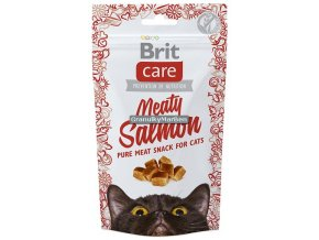 Brit Care Cat Snack Meaty Salmon