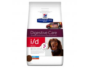 Hills canine diet id stress mini
