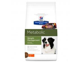 Hills canine diet metabolic weight management
