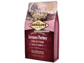 carnilove cat salmon turkey kitten