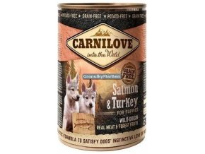 Konzerva Carnilove Salmon Turkey puppy