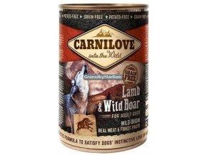 Konzerva Carnilove Lamb Wild Boar