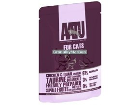 AATU Cat Chicken n Quail kaps 85g