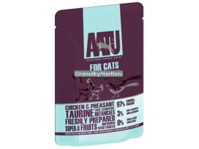 AATU Cat Chicken n Pheasant kaps 85g
