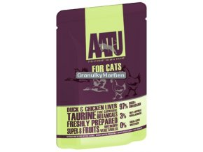 AATU Cat Duck n Chicken Liver kaps 85g