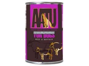 AATU Dog Beef n Buffalo konz 400g