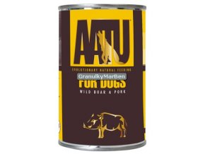 AATU Dog Wild Boar n Pork konz 400g