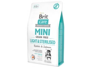 Brit Care Dog Mini Light Sterilised