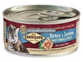 konzerva carnilove cat turkey salmon