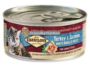 konzerva carnilove cat turkey salmon