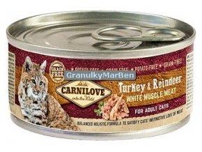 konzerva carnilove cat turkey reindeer