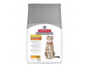 hills feline science plan adult urinary health sterilised cat