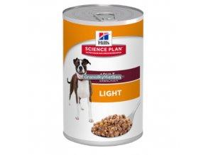 konzerva hills canine adult light with chicken