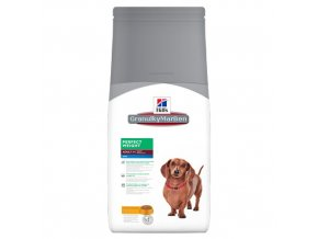hills canine science plan adult perfect weight mini with chicken
