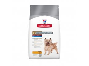hills canine science plan adult healthy mobility mini with chicken