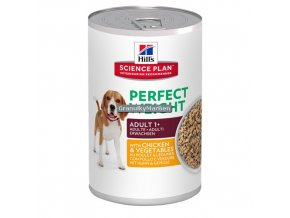 hills canine adult perfect weight with chicken and vegetables