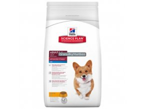 hills canine science plan adult advanced fitness mini with chicken
