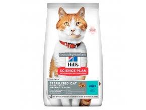 hills feline science plan sterilised cat young adult tuna