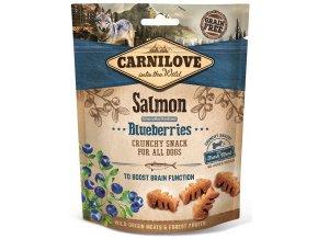 CL SNACKS DOG salmon&blueberries 3D 200g K1