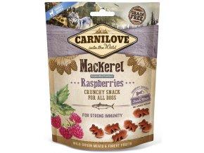 CL SNACKS DOG mackerel&raspberries 3D 200g K2