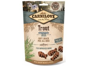 CL SNACKS DOG trout&dill 3D 200g K1