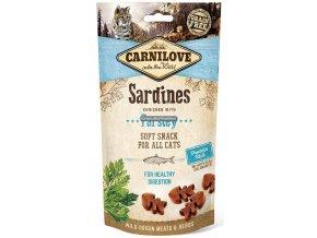 CL SNACKS CAT sardine&parsley 3D 50g