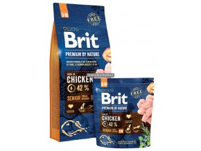 Brit Premium by Nature Senior S M