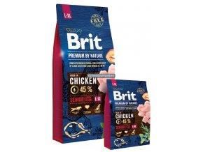 Brit Premium by Nature Senior L XL