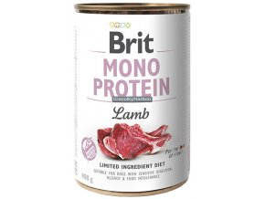 brit konzerva mono lamb