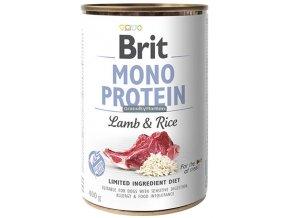 brit konzerva mono lamb rice