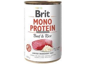 brit konzerva mono beef rice