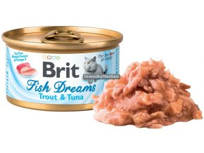 konzerva Brit Fish Dreams Trout Tuna