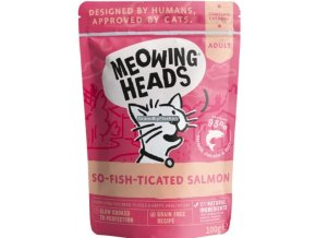 kapsicka Meowing Heads So fish ticated Salmon