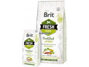 Brit Fresh Duck Millet Adult Run Work
