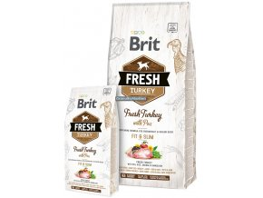 Brit Fresh Turkey Pea Adult Fit Slim