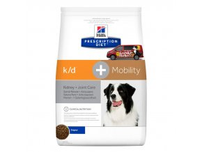 Hills canine diet kd+mobility