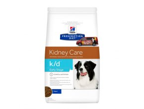 Hills canine diet kd early stage
