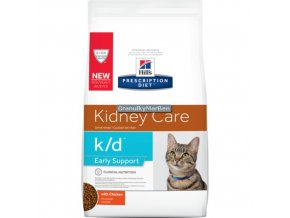 Hills Feline diet kd early stage